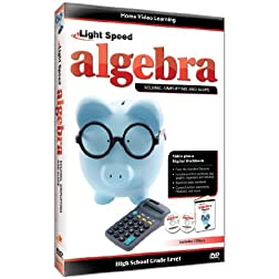 Light Speed Algebra: Solving, Simplifying, and Slope
