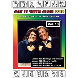 Sign Language Course - Vol. 10
