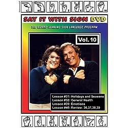 Sign Language Course - Vol. 10