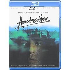 Apocalypse Now (Three-Disc Full Disclosure Edition) (Apocalypse Now / Apocalypse Now Redux / Hearts of Darkness) [Blu-ray]