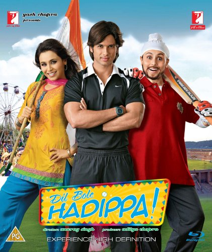 Dil Bole Hadippa- Shahid Kapoor, Rani Mukherjee (Comedy Hindi Film / Bollywood Movie / Indian Cinema Blu ray DVD) [Blu-ray]