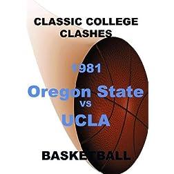 1981 Oregon State vs UCLA - Basketball