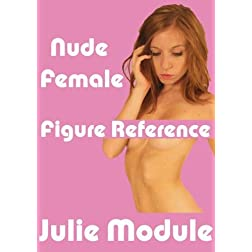 Nude Female Figure Reference: Julie Module