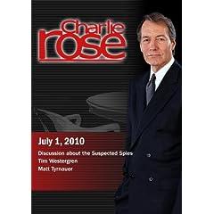 Charlie Rose - Spies / Tim Westergren / Matt Tyrnauer (July 1, 2010)