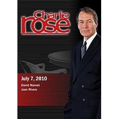 Charlie Rose - David Mamet / Joan Rivers (July 7; 2010)