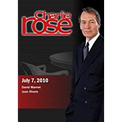 Charlie Rose - David Mamet / Joan Rivers (July 7; 2010)