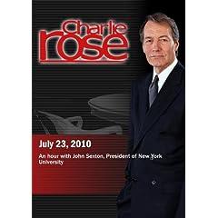 Charlie Rose - John Sexton (July 23, 2010)