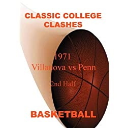 1971 Villanova vs Penn - 2nd Half - Basketball