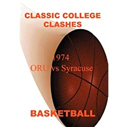 1974 ORU vs Syracuse - Basketball
