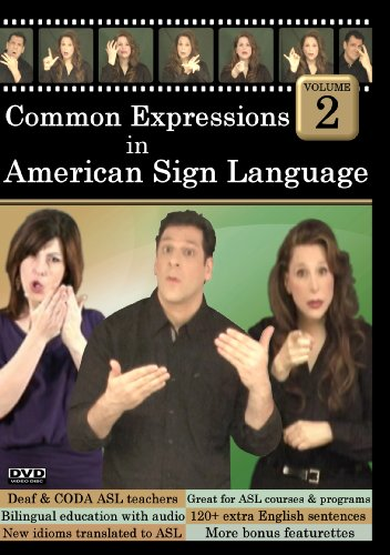 Common Expressions in American Sign Language Vol 2