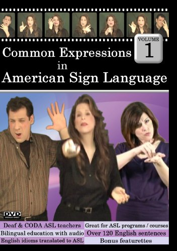 Common Expressions in American Sign Language Vol 1