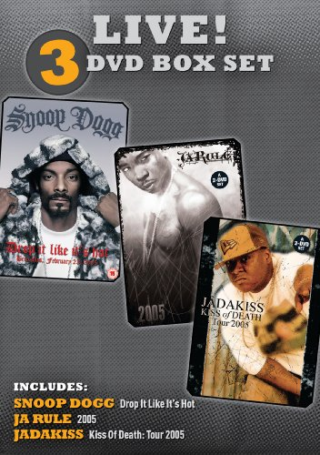 Snoop Dogg, Ja Rule & Jadakiss - Live! (Box Set)