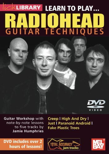 Learn to Play Radiohead DVD