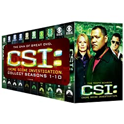 C.S.I.: Crime Scene Investigation, Seasons 1-10