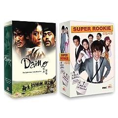 Korean TV Drama 2-pack: Damo + Super Rookie