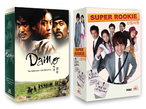 Korean TV Drama 2-pack: Damo + Super Rookie