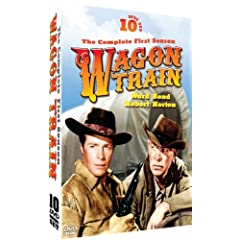 Wagon Train - The Complete First Season - starring Ward Bond and Robert Horton - 10 DVD Set!