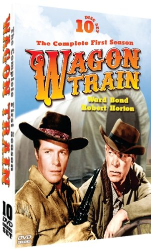 Wagon Train - The Complete First Season - starring Ward Bond and Robert Horton - 10 DVD Set!