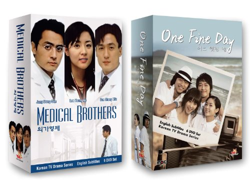 Korean TV Drama 2-pack: Medical Brothers + One Fine Day