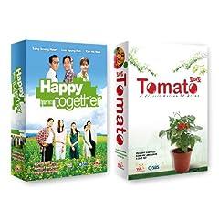 Korean TV Drama 2-pack: Happy Together + Tomato