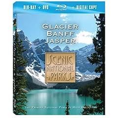Scenic National Parks: Glacier Banff & Jasper [Blu-ray plus DVD and Digital Copy]