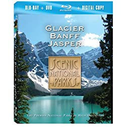Scenic National Parks: Glacier Banff & Jasper [Blu-ray plus DVD and Digital Copy]