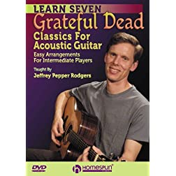 Learn 7 Grateful Dead Classics For Acoustic Guitar