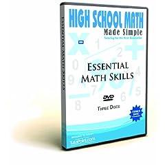 Essential Math Skills Made Simple DVD Set