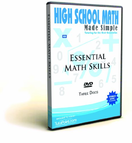 Essential Math Skills Made Simple DVD Set