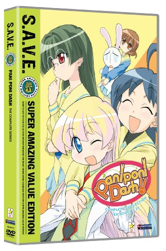 Paniponi Dash! - The Complete Series Box Set S.A.V.E.