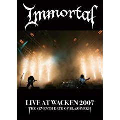Immortal: Live at Wacken 2007 (DVD/CD)