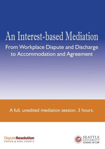 """An Interest-based Mediation ..."" films and ""Stop Action!"" - Package 3"