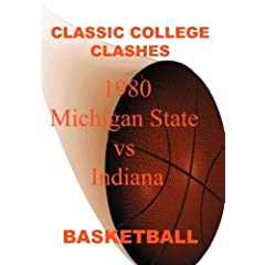 1980 Michigan State vs Indiana - Basketball