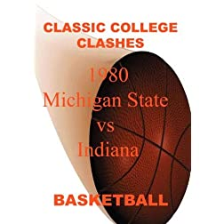 1980 Michigan State vs Indiana - Basketball