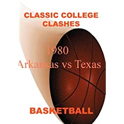 1980 Arkansas vs Texas - Basketball