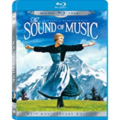 The Sound of Music (45th Anniversary Edition) (Two-Disc Blu-ray/DVD Combo in Blu-ray Packaging)