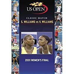 US Open 2001: Serena Williams vs Venus Williams