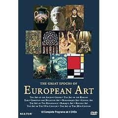 The Great Epochs of European Art Set