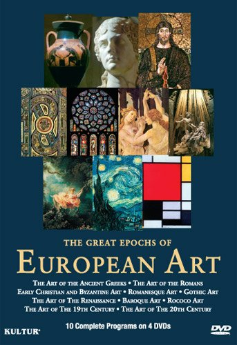 The Great Epochs of European Art Set