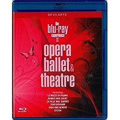 The Blu Ray Experience, Vol. 2: Opera, Ballet, Theatre (Including: Le Nozze di Figaro; Romeo and Juliet; La Fille mal Gardee; Don Giovanno; Dido and Aeneas; Sylvia) [Blu-ray]