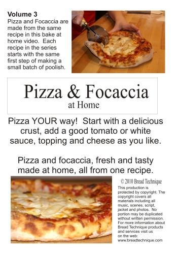 Pizza & Focaccia at Home