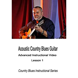 Acoustic Country Blues Guitar Lesson 1