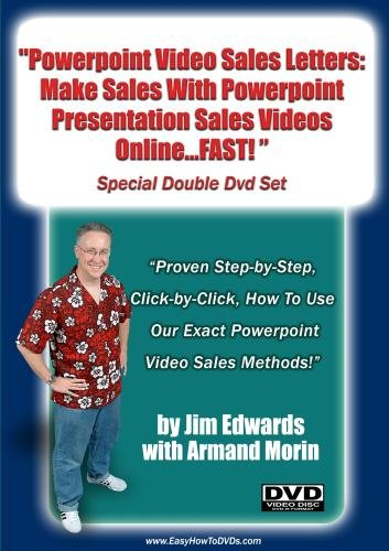 """Powerpoint Video Sales Letters: Make Sales With Powerpoint Presentation Sales Videos Online...FAST!"