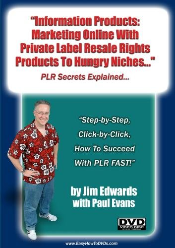 """Information Products: Marketing Online With Private Label Resale Rights Products To Hungry Niches..."""