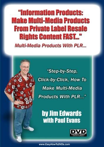 """Information Products: Make Multi-Media Products From Private Label Resell Rights Content Fast!"""