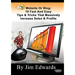 """Website or Blog: 10 Fast and Easy Tips & Tricks That Massively Increase Sales and Profits..."""