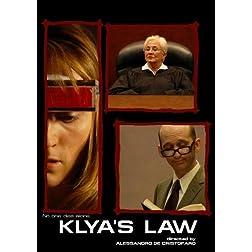 Klya's Law