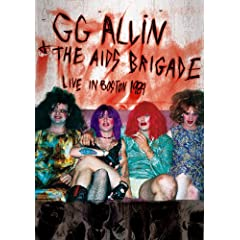 Allin, GG - Live In Boston 1989