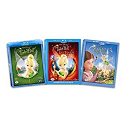 Tinker Bell Three Pack Blu-ray Bundle
