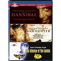 Hannibal Lecter Triple Feature